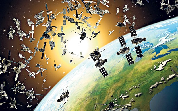 outer space junk